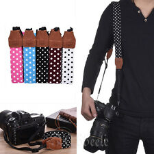 Fashion Camera Shoulder Neck Belt Strap For SLR DSLR Canon Nikon Sony Panasonic