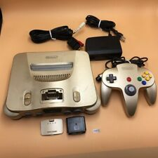 P9832 Nintendo 64 N64 console Gold japan w/Controller set * Express