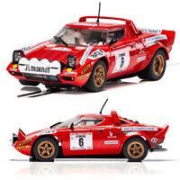 SCALEXTRIC Slot Car C3930 Lancia Stratos Tour De Course Rally Win 1975 Daniche