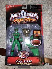 power rangers ninja storm green samurai ranger NIB