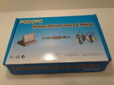 """4.3"""" TFT LCD Folded Car Monitor Rear View Backup Night Vision Camera Kit, New,,,"""