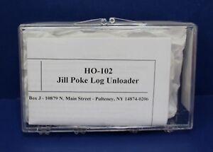 Keystone Loco Works HO-102 HO Working Jill Poke Log Unloader cast Metal Kit NIB