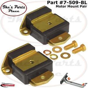 Prothane 7-509-BL  Motor Mount Insert Bushing Kit Early GM Cars/Trucks 63-72