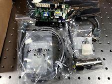 Cambridge 8330k Laser Galvanometer Kit Withbb Mirror 671xx Driver Galvoscanner