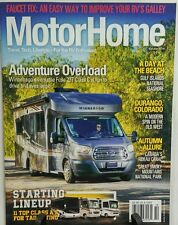 Motor Home October 2016 Adventure Overload   FREE SHIPPING