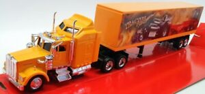 New Ray 1/43 Scale Model Truck 15333 - Kenworth W9000 - Orange