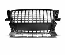 FRONT GRILL GRAU16 AUDI Q5 2008 2009 2010 2011 2012 SUV BLACK S-LINE STYLE