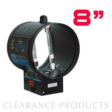 "Uvonair 8"" UV Inline Duct Ozonator Ozone Odor Control Ventilation Air Purifier"