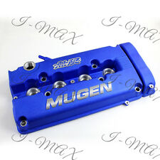 Blue MUGEN Style Engine Valve Cover For Honda Civic B16 B17 B18 VTEC B18C DOHC