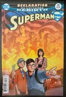 SUPERMAN #28a (2017 Rebirth DC Comics) ~ VF/NM Book