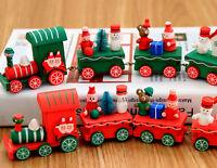 Navidad Tren Bosque Pequeño Árbol de Infantil Niños Luz Regalo Decoración Fiesta