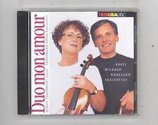 (CD) Duo mon amour-Friedemann Kupsa,cello;Renate Eggebrecht,violin/Ravel;Milhaud