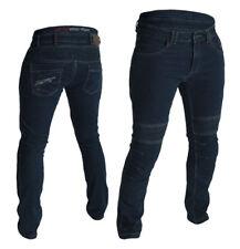 RST 2002 Aramid Tech Pro CE Men's Motorcycle Jeans Dark Wash Blue Knee & Hip Arm 34