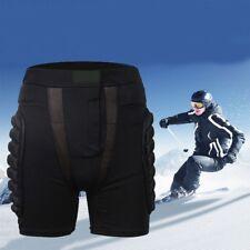 Men Women Padded Ski Shorts Pants Hip Protective Motorcycle Short Pant Protector