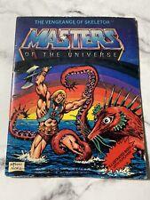 MOTU Mini Comic Book The Vengeance of Skeletor Masters of the Universe He-Man