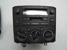 TOYOTA AVENSIS CD PLAYER CASSETE PLAYER AND CONTROLS 86120-05071 ref1122