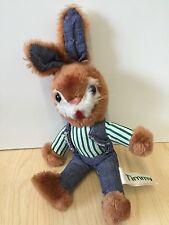 RARE Vintage Russ 1980 Timmy Rabbit Soft Plush Toy 25cm Item No. 203