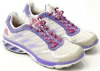 Women's Adidas Adiprene Ozweego Athletic Running Shoes Sneakers Purple Pink 9