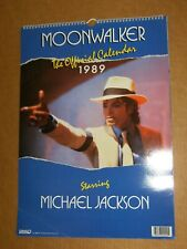 MICHAEL JACKSON  OFFICIAL  MOONWALKER  CALENDAR  1989