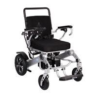 Neu Mobilityplus + Leicht Elektrischer Rollstuhl Instant Faltbar, 24kg, 4mph