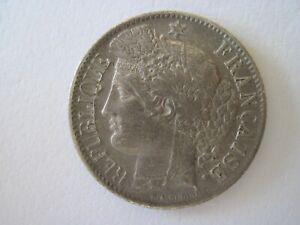 1 franc argent ceres 1850 BB abeille