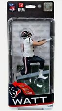 Mcfarlane NFL Series 36 Houston Texans J.J. Watt White Jersey Blue Pants Figure