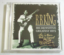 B.B.KING his definitive greatest hits  CD 1999