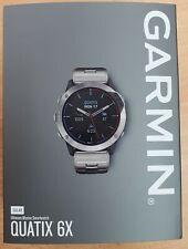 Garmin Quatix 6X Solar Titanium with Titanium Band Gps Marine watch 010-02157-31