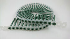2000 Collated Autofeed Acq Deck Screws 8 X 2 Green Color