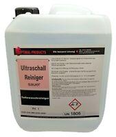 Ultraschallreiniger sauer für Alu ( Aluminium ) und Messing  5 Liter