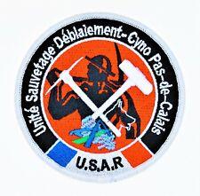 Obsolète écusson Pompier USAR / CYNO / SD du SDIS 62 Fire Patch Sécurité Civile