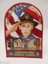 Boy Scout BSA 1999 40th Scoutmasters Camporee Markham Park Sunrise FL Patch