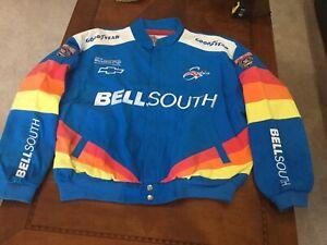Rare 1998 Nascar Joe Nemichek Bellsouth Racing  JACKET Chevy XXL Vintage