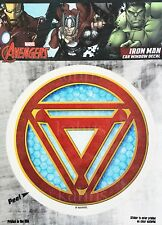 Marvel Avengers Iron Man Window Decal Sticker Auto - Officially Licenesed