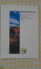 Motorrad-Reisen Wochenentouren, Fernreisen und Fahrertraining 1996