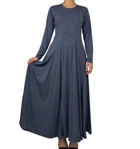 UK Umbrella Abaya Maxi Dress Jilbab Islamic
