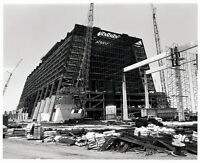 Vintage DISNEY WORLD Contemporary Resort & Monorail Beam Construction Photo 8x10