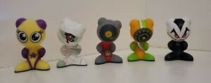 UB Funkey Game figures Lot Of 5 Figures. Scratch, Twinx, Ptep, Drift, Vlurp.