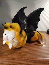 "Vintage Garfield the Cat Plush Dracula Vampire Halloween Dakin 6"" Long Mint"
