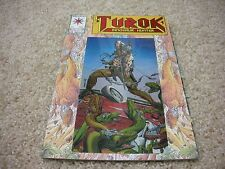 Turok Dinosaur Hunter 1 Chrome Cover Valiant 1993 Bart Sear Artwork NM