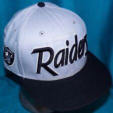 Oakland Las Vegas Raiders New Era 9Fifty Southside Snap Back Script Baseball Cap