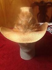 Western cowboy hat Levi Strauss Straw Medium.