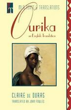 OURIKA AN ENGLISH TRANSLATION MLA TEXTS AND TRANSLATIONS By Claire De Duras NEW
