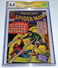 Amazing Spider-Man #11 CGC SS Signature Autograph STAN LEE 2nd Doctor Octopus 💎
