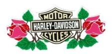 Harley Davidson Aufkleber B+S Bar + Shield Rosen Roses 22x9 Decal Lady XL TOP
