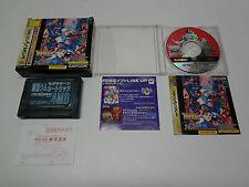 Marvel Vs Street Fighter Ram Pack with Registration Card Sega Saturn Japan