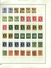 GB QEII Wildings/Ireland KGV Album Page Of Stamps #V14304