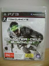 Tom Clancy's Splinter Cell: Blacklist ~~ PS3 ~ FREE POST AU