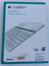 * NEW  Logitech Ultrathin Keyboard Cover White for iPad 2 and iPad (3rd/4th gen)