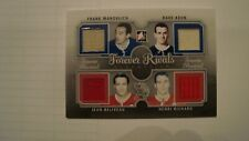 12-13 ITG FOREVER RIVALS MAHOVLICH KEON BELIVEAU RICHARD 2012 EXPO JERSEY 8 /19